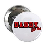 Daddy to Be (red) Button