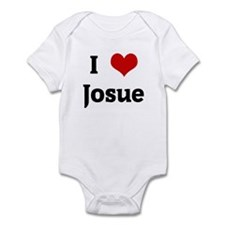 I Love Josue Infant Bodysuit