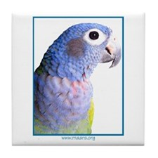 Blue-Headed Pionus - Tile Coaster