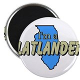 "Unique Flatland 2.25"" Magnet (10 pack)"
