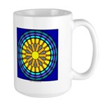 Sun Web Large Mug