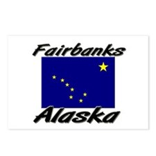 Fairbanks Alaska Postcards (Package of 8)