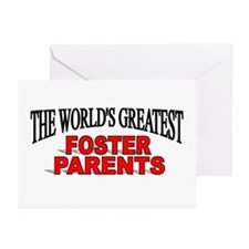 """The World's Greatest Foster Parents"" Greeting Car"