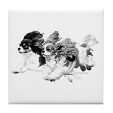 Lilly/Rosie Pencil Tile Coaster