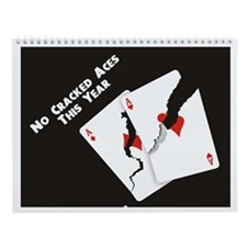 Poker Graphics Wall Calendar