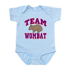 Team Wombat VI Infant Bodysuit