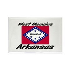 West Memphis Arkansas Rectangle Magnet