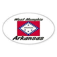 West Memphis Arkansas Oval Decal