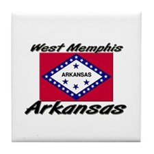 West Memphis Arkansas Tile Coaster