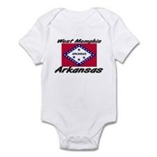 West Memphis Arkansas Infant Bodysuit