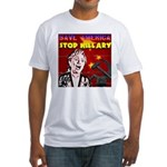 Stop Hillary! Fitted T-Shirt