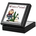 Winter Friends Keepsake Box