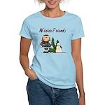 Winter Friends Women's Light T-Shirt