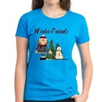 Winter Friends Women's Dark T-Shirt