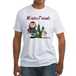 Winter Friends Fitted T-Shirt