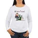 Winter Friends Women's Long Sleeve T-Shirt