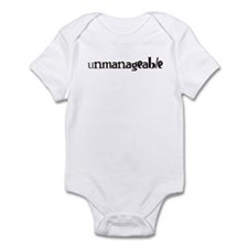 Unmanageable Infant Bodysuit