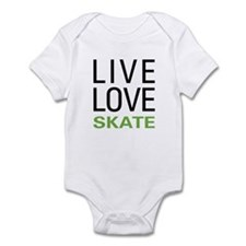 Live Love Skate Infant Bodysuit