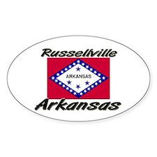 Russellville Arkansas Oval Decal