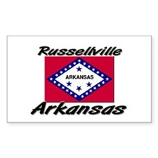Russellville Arkansas Rectangle Decal