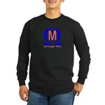Omega Mu Long Sleeve Dark T-Shirt