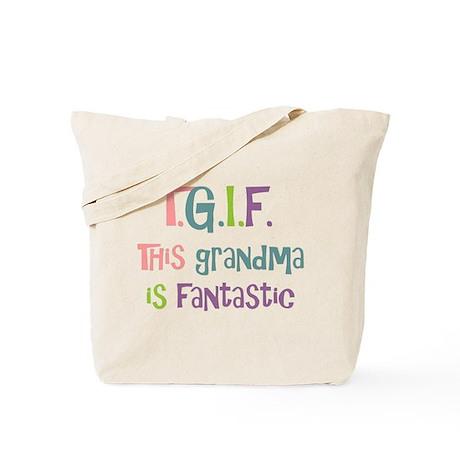 Grandma is Fantastic Tote Bag