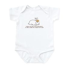 Pancake Bunny Infant Bodysuit