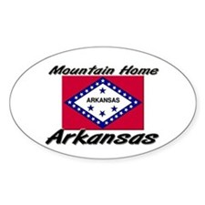 Mountain Home Arkansas Oval Decal