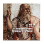 Plato Education: Tile Coaster