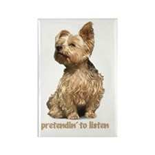 """all ear yorkie"" magnet"