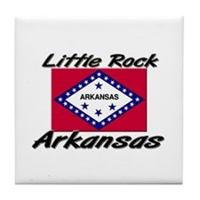 Little Rock Arkansas Tile Coaster