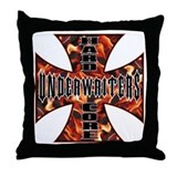 Funny  funeral directors Throw Pillow