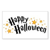 Happy Halloween Rectangle Decal