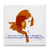 Jackie Kennedy Tile Coaster