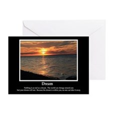 Dream Motivational Greeting Cards (Pk of 10)