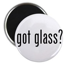 "Cute Glass 2.25"" Magnet (100 pack)"