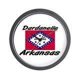 Dardanelle Arkansas Wall Clock