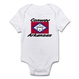 Conway Arkansas Infant Bodysuit