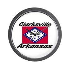 Clarksville Arkansas Wall Clock