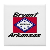 Bryant Arkansas Tile Coaster