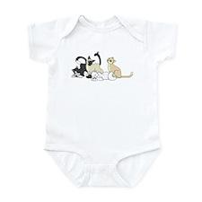 Cats Infant Bodysuit