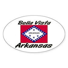 Bella Vista Arkansas Oval Decal