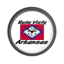 Bella Vista Arkansas Wall Clock