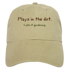 Plays in the Dirt Baseball Cap