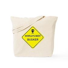 Busker  Tote Bag