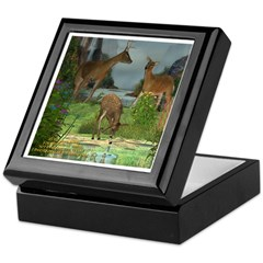 As the Deer Keepsake Box