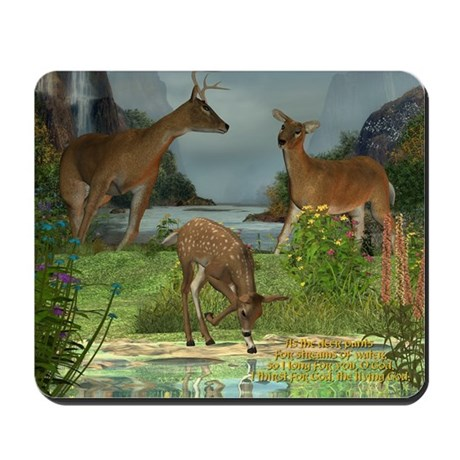 As the Deer Mousepad