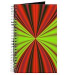 Red Drapery Fractal Journal