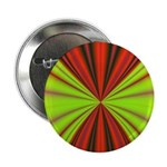 Red Drapery Fractal Button