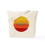 Red Drapery Fractal Messenger Bag